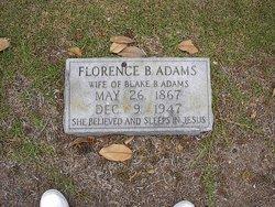 Florence B. Adams