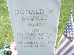 Donald Webb Brumet