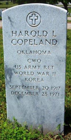 Harold L Copeland