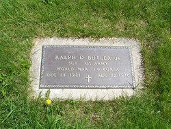 Sgt Ralph D Butler, Jr