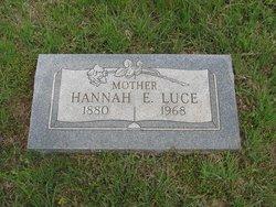 Hannah E <i>Claibourn</i> Luce