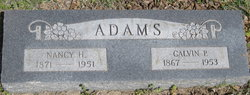 Nancy Hannah <i>Zickefoose</i> Adams