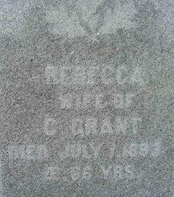 Rebecca <i>Hysell</i> Grant