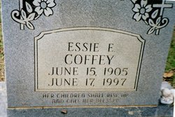 Essie <i>Edwards</i> Coffey