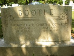 Margaret Christine <i>Coward</i> Bootle