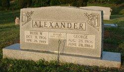 Ruth W. Alexander
