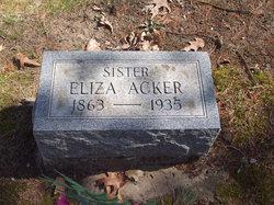 Eliza Acker