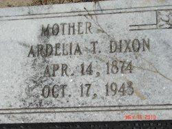 Ardelia T. <i>Thrift</i> Dixon