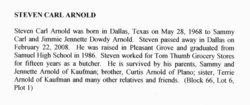 Steven Carl Arnold