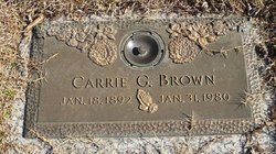 Carrie G Brown