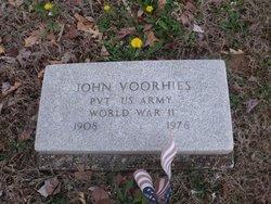 Pvt John Voorhies