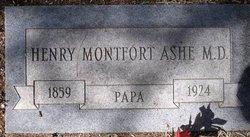 Henry Montfort Ashe