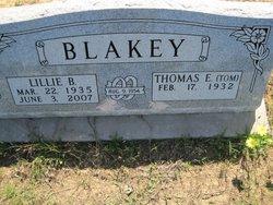Thomas Eldon Tom Blakey