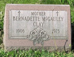 Bernadette <i>McGauley</i> Clay