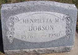 Henrietta Mary <i>Brown</i> Dobson