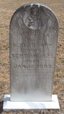 Rebecca A. <i>Rentz</i> Beard