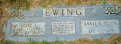 Annie E. <i>Peden</i> Ewing