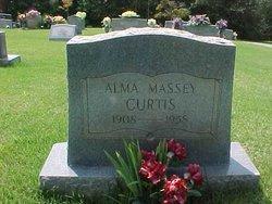 Alma <i>Massey</i> Curtis