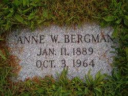 Anna W Bergman