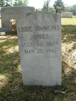 Ebbie Jannette <i>Simmons</i> Jones