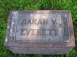 Sarah Virginia <i>Washam</i> Everett