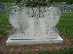 Martha Jane <i>Lewis</i> Davidson