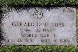 Gerald D Billups