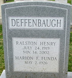 Marion F <i>Funda</i> Deffenbaugh