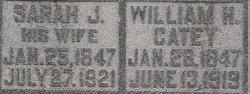 Sarah Jane <i>Williams</i> Catey