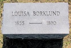 Louisa <i>Jacobson</i> Borklund