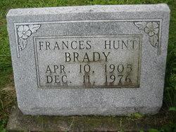 Frances <i>Hunt</i> Brady