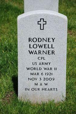 Rodney Lowell Warner