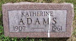 Katherine Katie <i>Gergely</i> Adams