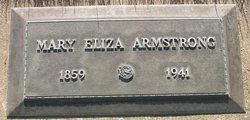 Mary Eliza <i>Goodwin</i> Armstrong