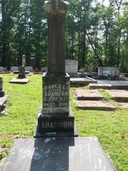 Nancy Elizabeth <i>Jackson</i> Adamson