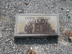 Oppie <i>Crouch</i> Adamson