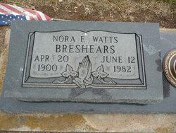 Nora Ellen <i>Watts</i> Breshears