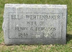 Ella <i>Wertenbaker</i> Ferguson