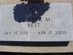Alberta M. Best