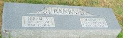 Martha Elizabeth Mattie <i>Barton</i> Banks