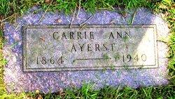 Carrie Ann <i>Jacobs</i> Ayerst