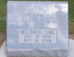 Mildred <i>Uhl</i> Beem