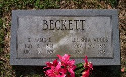 Lutishia Tish <i>Woods</i> Beckett