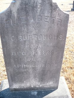 Mary Elizabeth <i>Booth</i> Burroughs