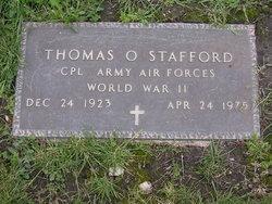 Thomas O Stafford
