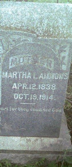 Martha Louise <i>Davis</i> Ammons