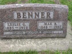 Leslie G Benner