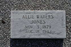 Allie <i>Waters</i> Jones