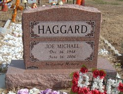 Joe Michael Haggard