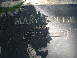 Mary Louise <i>Brown</i> Caro